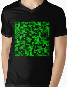 Creeper Chaos Mens V-Neck T-Shirt