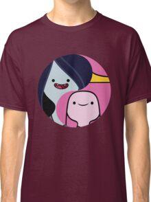 Marceline and Princess Bubblegum yin yang Classic T-Shirt