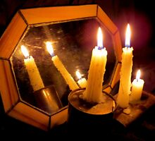 Old Mirror By Candlelight by trueblvr