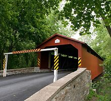 The Rishel Covered Bridge Is Back! by Gene Walls