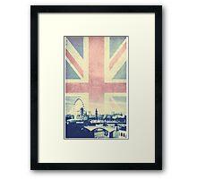 Sherlock London Union Jack Framed Print