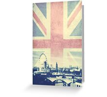 Sherlock London Union Jack Greeting Card