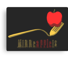 Minne-Apple-is Canvas Print