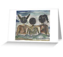 Beach Kids Greeting Card