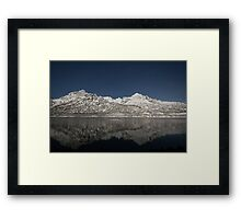 Arctic night Framed Print