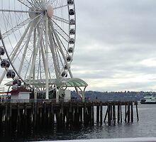 Cloudy Day in Seattle by Tatum  Kenn