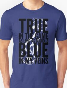 True In The Game As Long As Blood Is Blue In My Veins | Nas Shirt | FreshTS T-Shirt