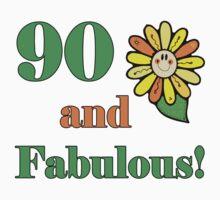 90th Birthday & Fabulous by thepixelgarden