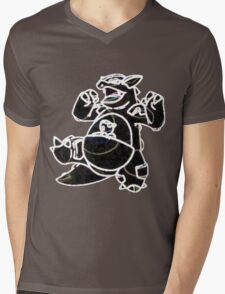 Kangaskhan Mens V-Neck T-Shirt