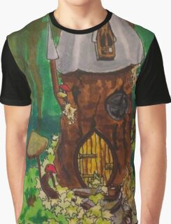 Fairy House Graphic T-Shirt