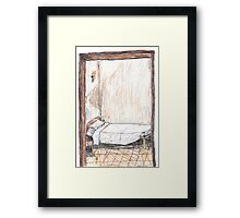 Convent Cell, Little Sisters of the Holy Family, Rome Framed Print