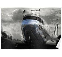 DC-3 Dakota Norway Poster