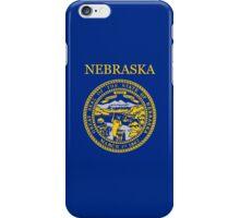 Smartphone Case - State Flag of Nebraska - Horizontal II iPhone Case/Skin
