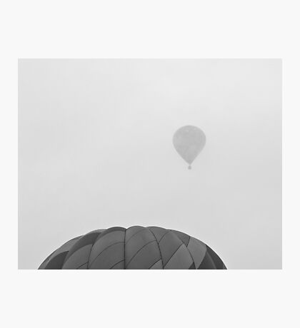Cloudy Launch Photographic Print