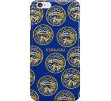 Smartphone Case - State Flag of Nebraska - Horizontal III iPhone Case/Skin