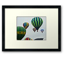 Up, Up and Away . . . Framed Print