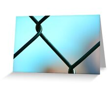 Pool Abstract  Greeting Card