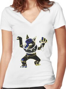 Hypno Women's Fitted V-Neck T-Shirt