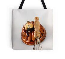 Man @ Work Tote Bag