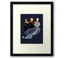 Girls Just Wanna Explore Uncharted Parts Of The Galaxy Framed Print