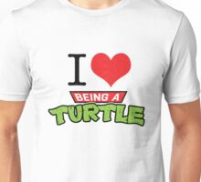 I Love Turtles...  Unisex T-Shirt