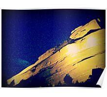 Red Rocks Poster