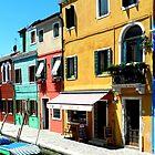 Houses in the sun by hans p olsen