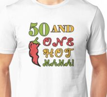 50th Birthday For Sexy Women Unisex T-Shirt