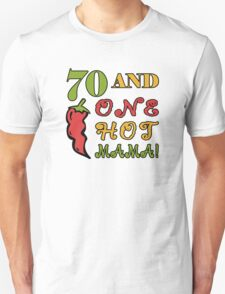 70th Birthday For Sexy Women T-Shirt