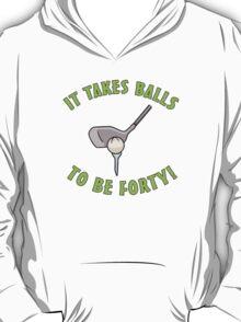 40th Birthday Golf Humor T-Shirt