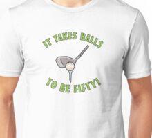 50th Birthday Golf Humor Unisex T-Shirt