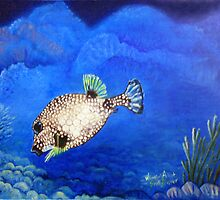 Casper - Ocean Series Tropical Fish by Scott Plaster