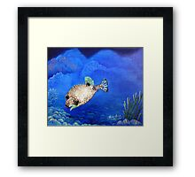 Casper - Ocean Series Tropical Fish Framed Print