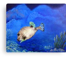 Casper - Ocean Series Tropical Fish Canvas Print
