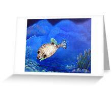 Casper - Ocean Series Tropical Fish Greeting Card