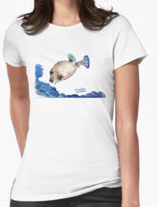 Casper - Ocean Series Tropical Fish Womens Fitted T-Shirt