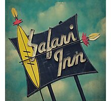 Safari Inn Photographic Print