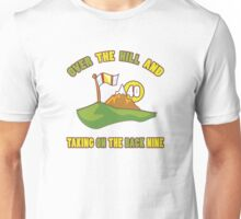 Funny 40th Birthday Golf Gift Unisex T-Shirt