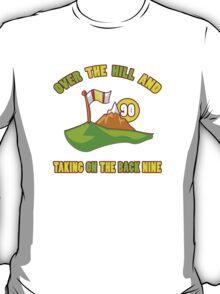 Funny 90th Birthday Golf Gift T-Shirt