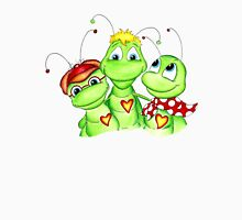 Grasshopper family picture Unisex T-Shirt