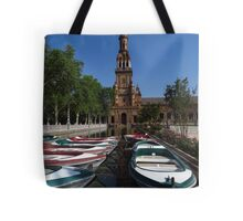 Rowing Boats, Plaza de Espana Tote Bag