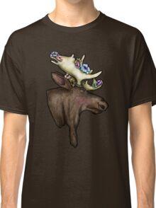 Floral Moose Classic T-Shirt