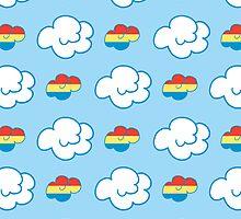Rainbow Dash Clouds by samskyler