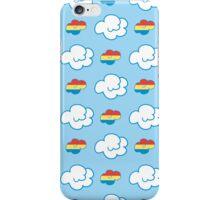 Rainbow Dash Clouds iPhone Case/Skin