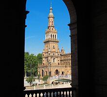 Plaza De Espana, Sevilla ( Azul ) by wiggyofipswich