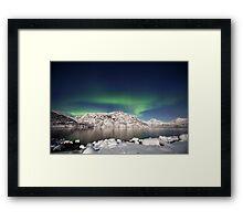 Arctic night Framed Print