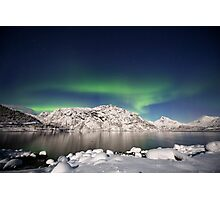 Arctic night Photographic Print