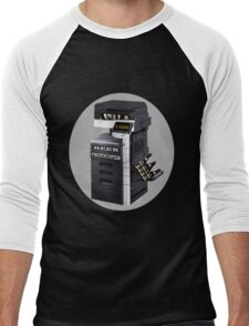 ☝ ☞ BEER PHOTOCOPIER TEE SHIRT☝ ☞ Men's Baseball ¾ T-Shirt