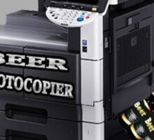 ☝ ☞ BEER PHOTOCOPIER TEE SHIRT☝ ☞ Sticker