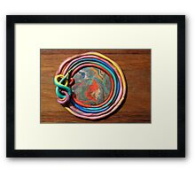 Created By The Child Within Framed Print